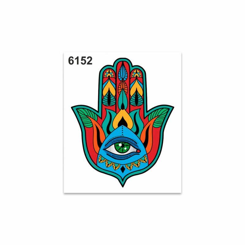 Adesivi Stickers Standard Mano di Fatima 10 x 12 cm