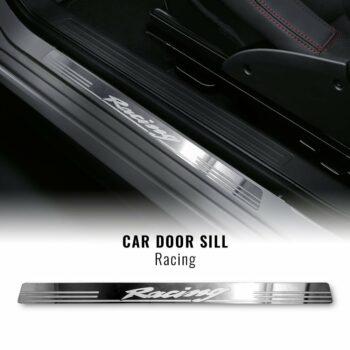 Battitacco Racing in Acciaio Inox per Portiere Auto