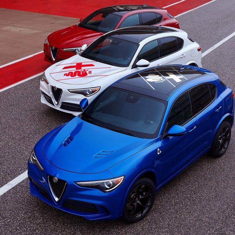 Decorazione Adesiva Universale Alfa Romeo per Carrozzeria applicazione