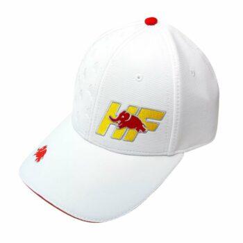 Cappellino Lancia HF Visiera Curva bianco
