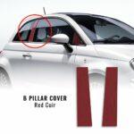 desivi Coprimontanti Centrali Fiat 500 Abarth cuir red