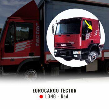 Kit Decorazione Eurocargo Tector cabina lunga rossa