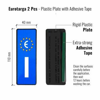 eurotarga retro e dimensioni