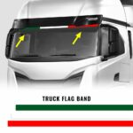 Fasce Autoadesive Tricolore Italia