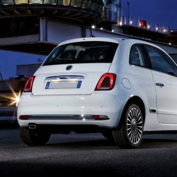Adesivi Interno Fari Abarth e Fiat 500 applicazione carbon
