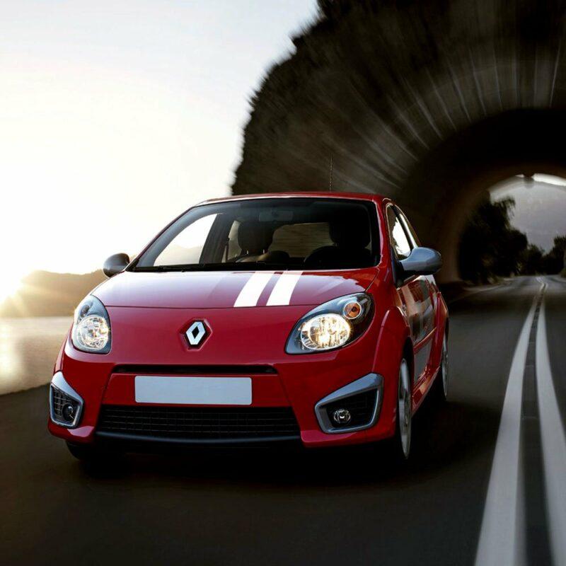 Stripes Strisce Adesive Kit Gordini Renault applicazione