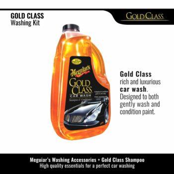 Meguiar's kit lavaggio Gold Class, shampoo