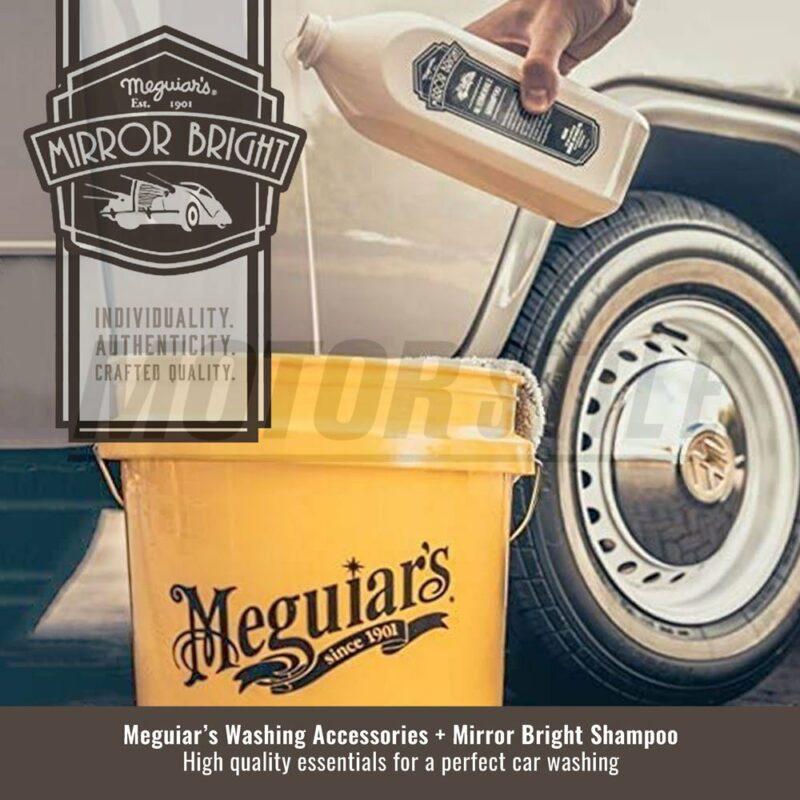 Meguiar's kit lavaggio Mirror Bright, esempio d'uso