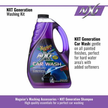 Meguiar's kit lavaggio NXT Generation, shampoo