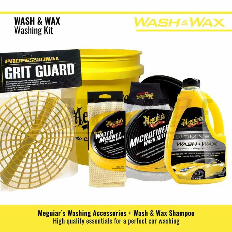 Meguiar's kit lavaggio Wash and Wax contenuto del kit