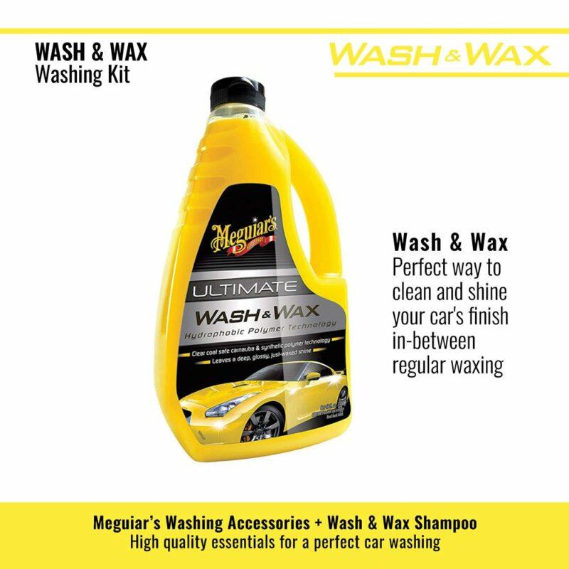 Meguiar's kit lavaggio Wash and Wax shampoo