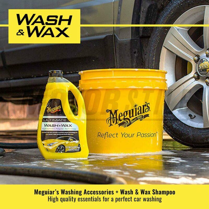 Meguiar's kit lavaggio Wash and Wax esempio d'uso