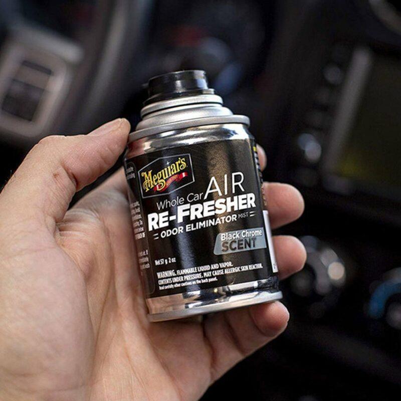 Meguiar's rimuovi odori rinfrescante per auto, Black Chrome,