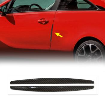 safe guard profili protettivi per portiere auto real fiber titanio
