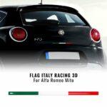 Stripes striscia adesiva tricolore Italia posteriore Alfa Romeo Mito