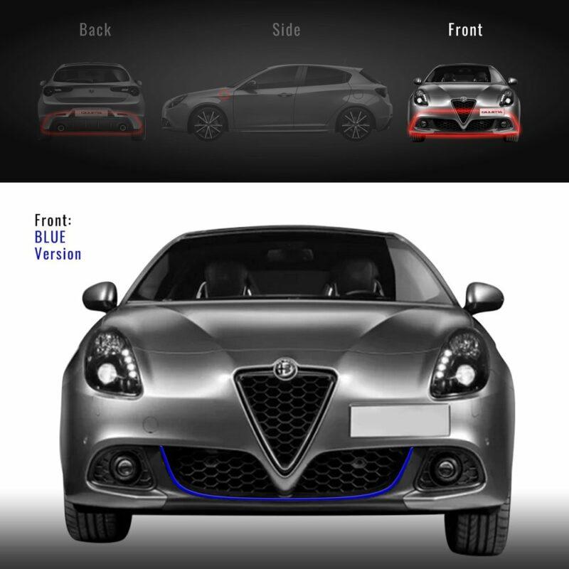 Profilo blu paraurti anteriore Alfa Giulietta