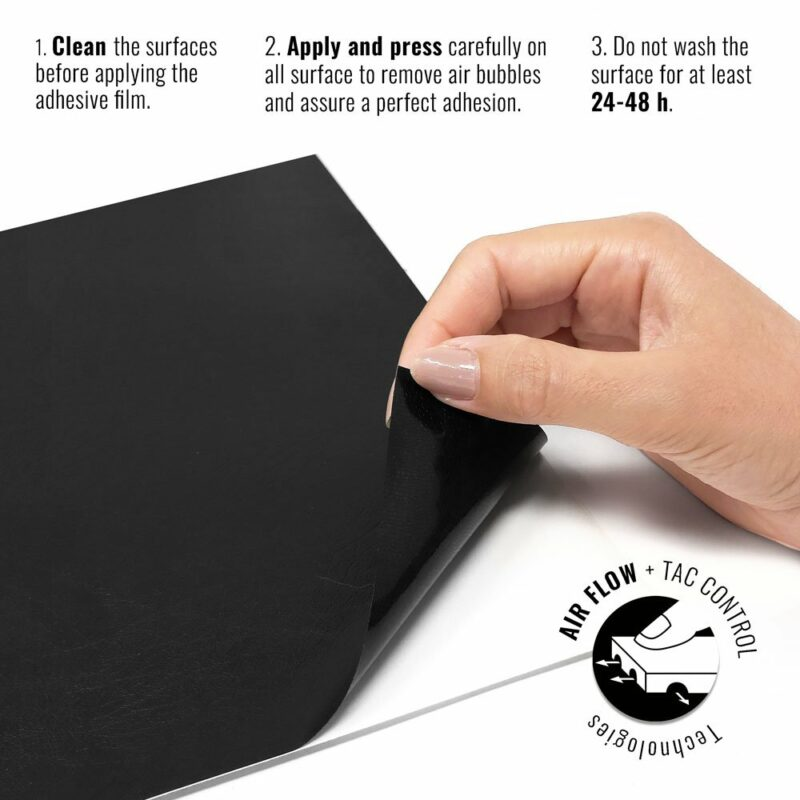Pellicola adesiva per wrapping black cuir istruzioni