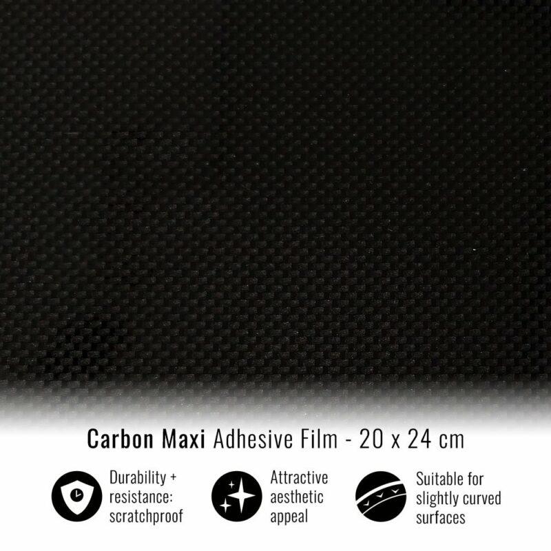 pellicola adesiva per wrapping carbon maxi
