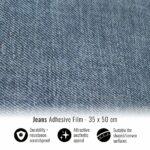 Pellicola adesiva per wrapping jeans 35x50