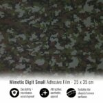 Pellicola adesiva per wrapping mimetic digit small 25x35