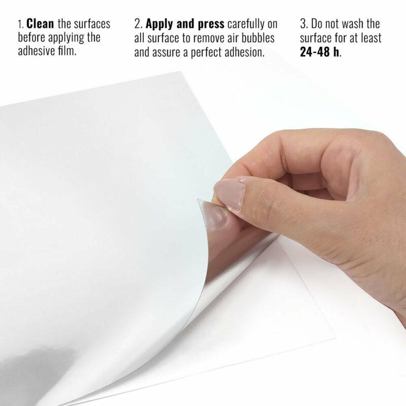 pellicola adesiva per wrapping mirror chrome istruzioni