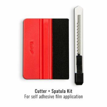 kit spatola e taglierino per applicazione pellicole adesive