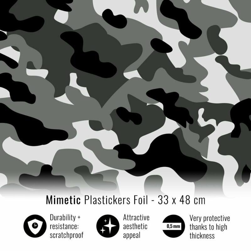 Pellicola adesiva per plastiche mimetic 33 x 48