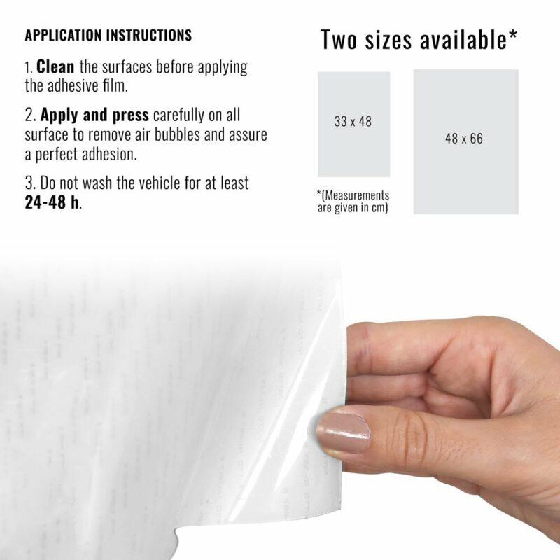 Pellicola adesiva per plastiche trasparente dimensioni e istruzioni