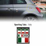 Set di adesivi bandiera Italia racing per auto