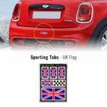 Set di adesivi bandiera Inghilterra UK racing per auto