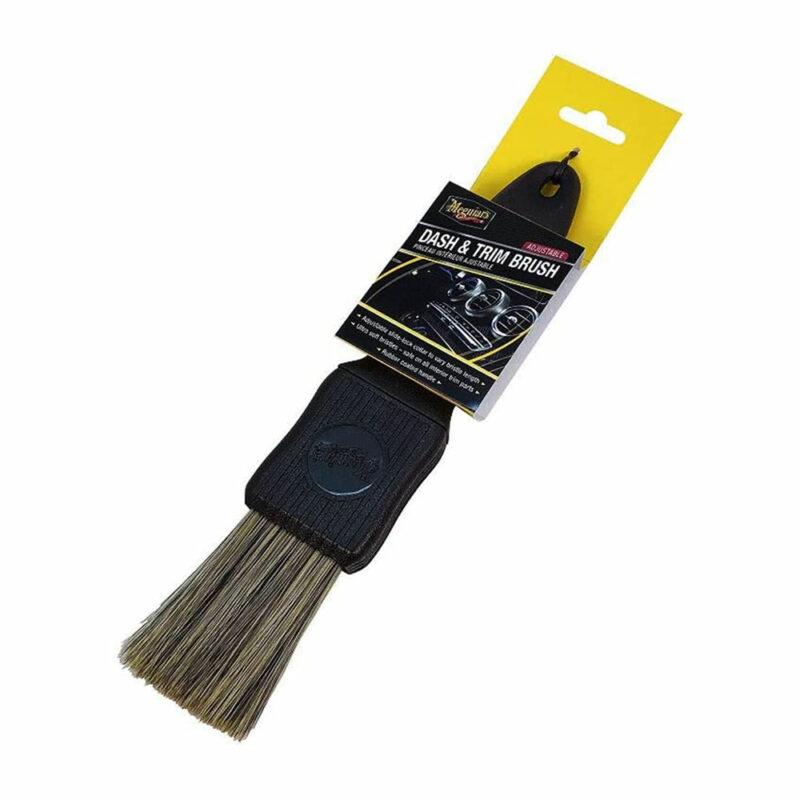 Meguiar's spazzola per detailing interni e cruscotti, confezione