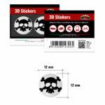 3D-Stickers-Teschio-12mm-14300-B