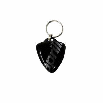 Portachiavi per Moto Aprilia Scudetto nero
