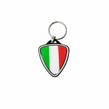 Portachiavi per Moto Italia Scudetto nero