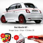 kit-abarth-rosso-vernice-cerchi-stripe-3D-stickers-A1