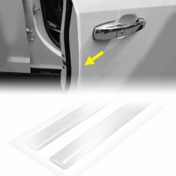 strisce adesive 3d rifrangenti per auto, bianco