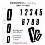 Numeri-Adesivi-Moto-Cross-Nero-Misure