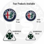 Patch-Toppa-Official-Logo-Alfa-Romeo-Misure