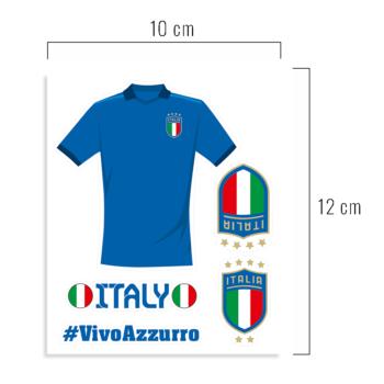 euro 2020 europei italia adesivi stickers nazionale calcio campioni
